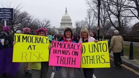 Women's March in Washington DC 2017