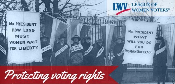 LWV 95th Anniversary - voting rights