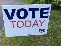 VoteTodaySign