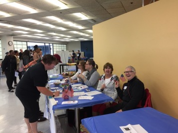 Naugatuck Valley Community College Voter Registration Drive